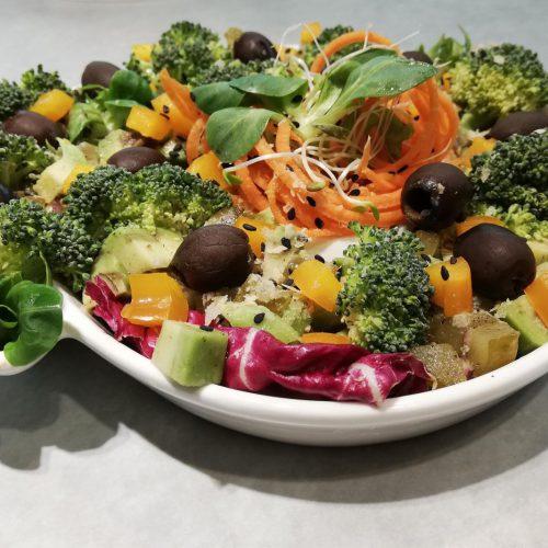 vegan plate, wegański talerz